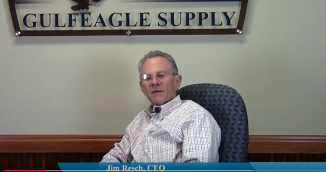 Why Jim Resch of Gulf Eagle Supply works with The Dikman Company